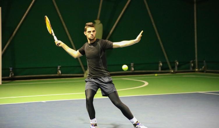 Edoardo Petrini, tennista del CT Tennis Olympia