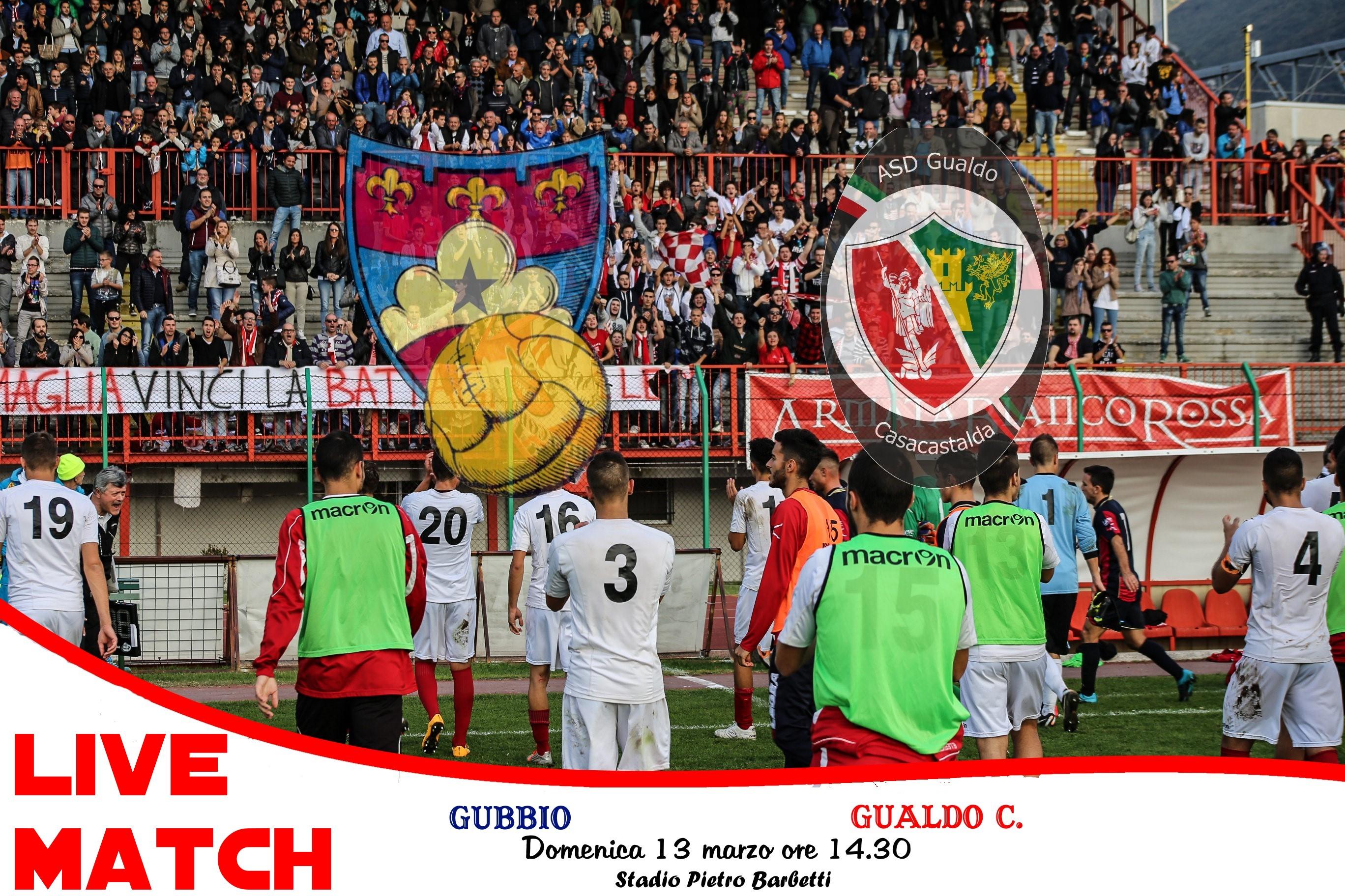 live match gubbio gualdo casacastalda