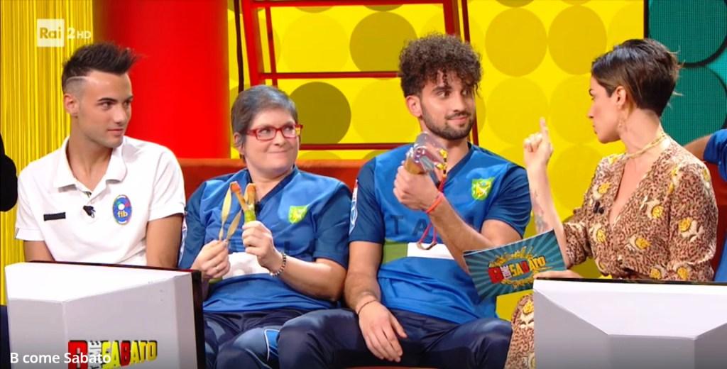Daniele Berardi Tiro con la Fionda