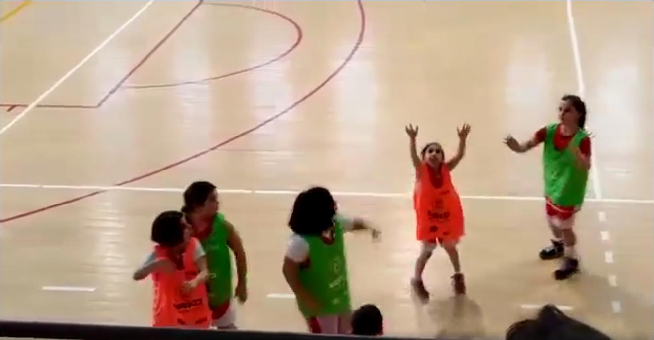 gaia pieretti gesto fairplay basket