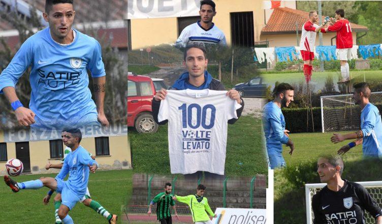 Gianluca Levato 100 gol con la maglia del Cerqueto