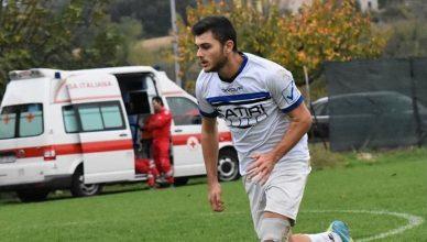 Federico Retini, centrocampista del Cerqueto