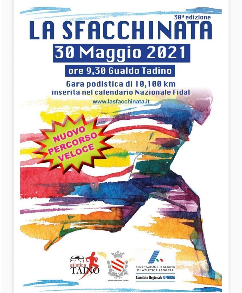 Locandina Sfacchinata 2021 Gualdo Tadino