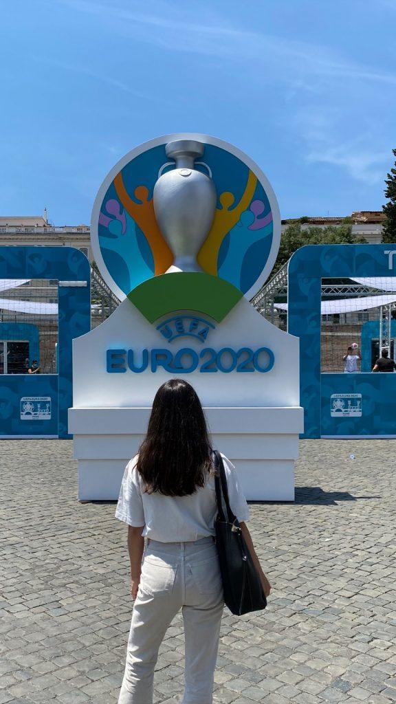 Sophia Ippoliti ad Euro 2020