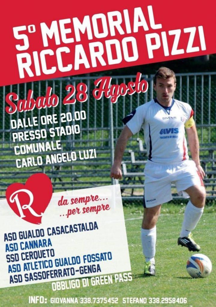 Memorial Riccardo Pizzi 2021
